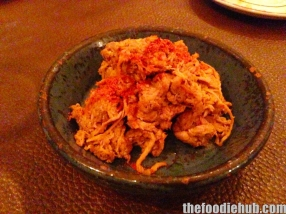 Messosalata pulled pork