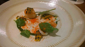 Scallops, Squid & Spinach (3)