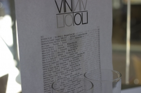 Vin & Oli Freo Wine Menu