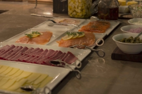 Assorted Cole Meats and Smoked Salmon