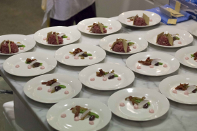 Beef Tartare with Red Radish Mayonnaise 4