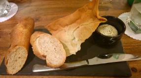 Bread, Lavosh + Butter