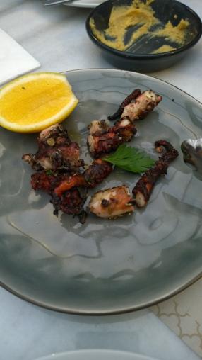 Grilled Oregano Lemon Octopus