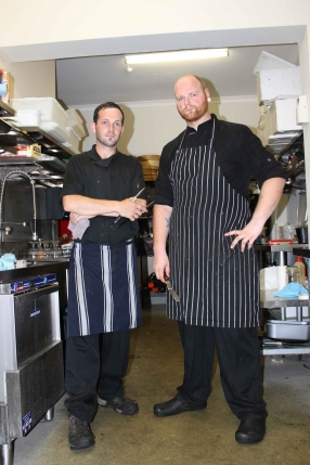 Chefs Ryan and Dean in the Kitchen