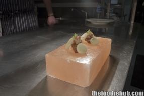 Handmade marron tofu