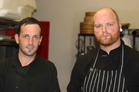 Chef Ryan and Dean