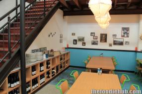 Mid dining area