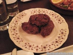 Soudzoukakia spice baked sausage from smyrna