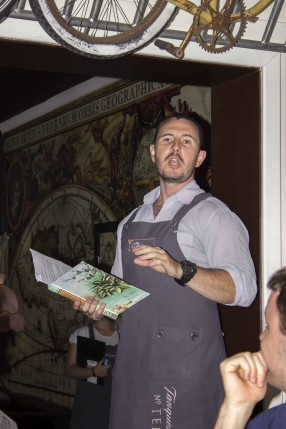 Andrew Bennett Cocktail Gastronomy