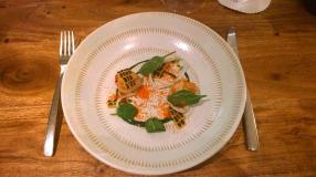 Scallops, Squid & Spinach (4)