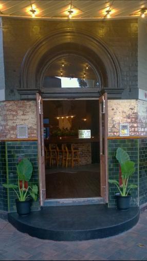 Bills Bar from Newcastle St (next to The Garden)